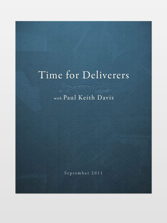 Time-for-Deliverers
